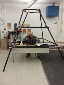 Head mentor Wayne Cokeley predicts what this season has in store for Team 25 from inside of the student-built pyramid.