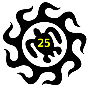 Team25LogoBlackTransYellowNumbers