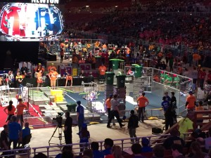 Our first qualification match at the Championship and our highest scoring of the season—206 points!